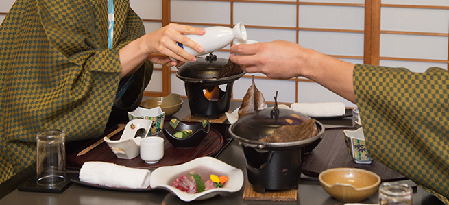 How to spend at Japanese style an inn