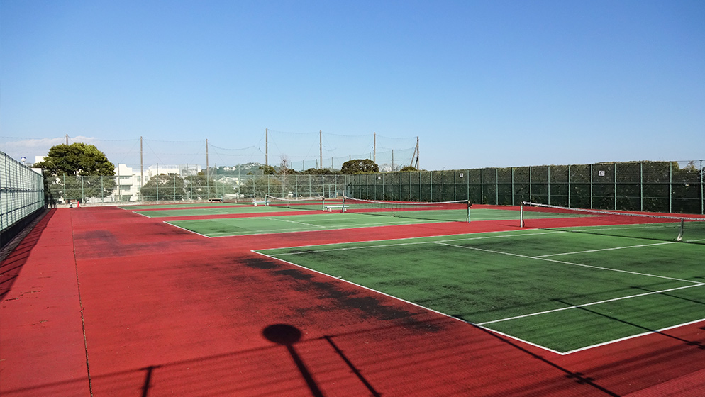 Yugawara Kaihin Park Tennis Courts