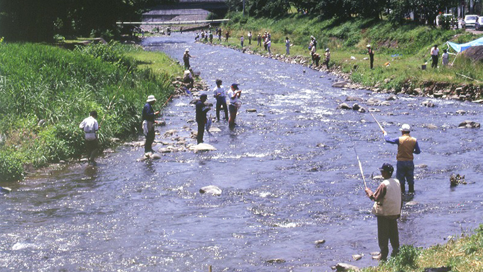 The Fujiki River, the Chitose River